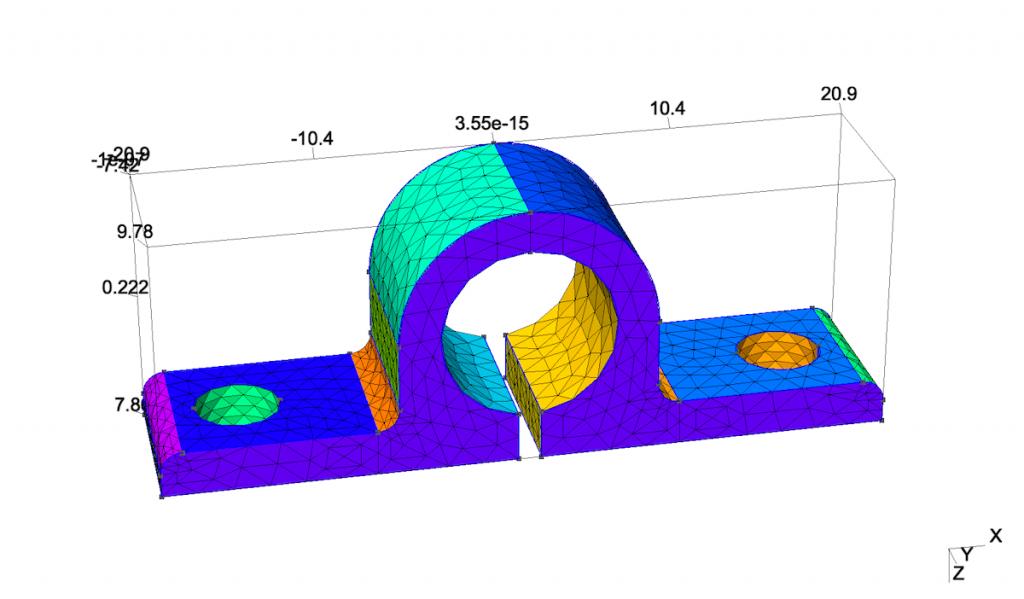 Gmsh 导入 CAD 文件